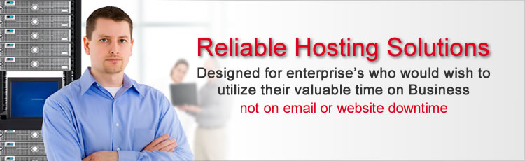 Web Hosting, domain name registration and email hosting services Company in India